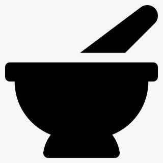Free Mortar And Pestle Clip Art with No Background.