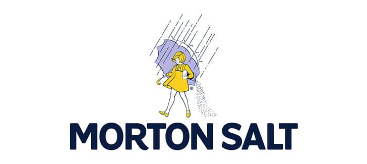 United States Morton Salt Brand Advertising Campaign Logo.