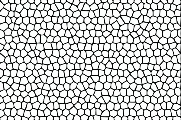 Mosaic clip art Free vector in Open office drawing svg.