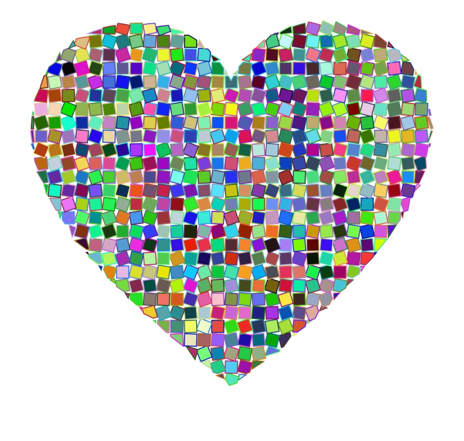 This Free Icons Png Design Of Prismatic Mosaic.