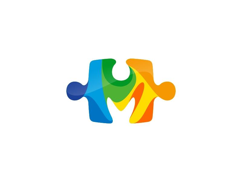 Mosaic logo by Adil on Dribbble.