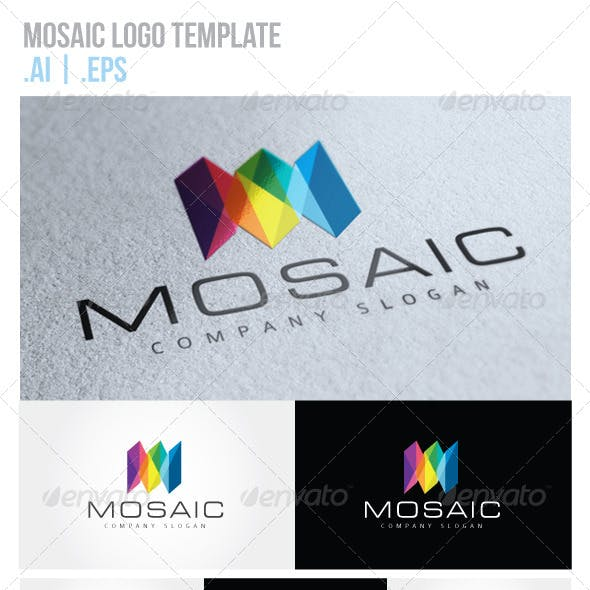 Mosaic Logo Graphics, Designs & Templates from GraphicRiver.