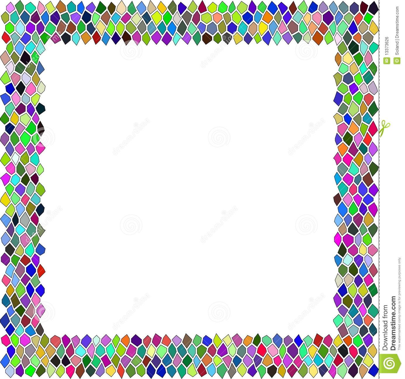 Mosaic clip art.