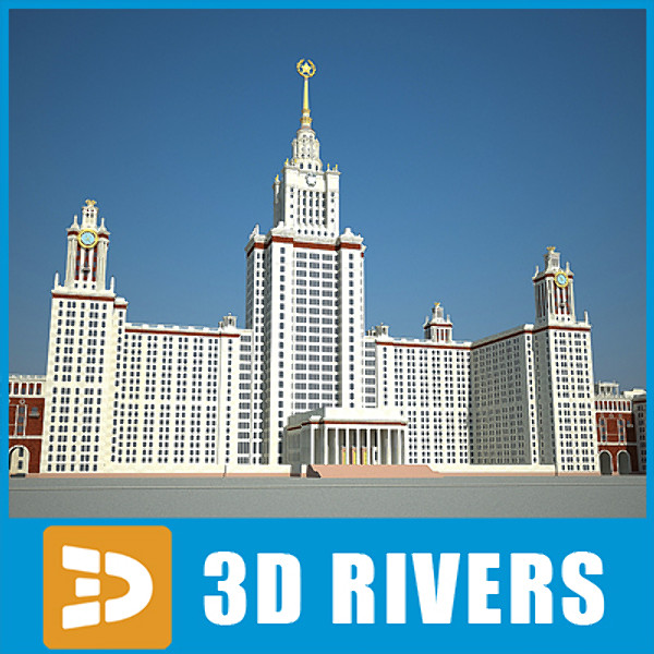 Searched 3d models for Moscow State University by 3DRivers.