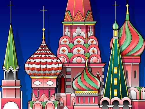 Moscow clipart.