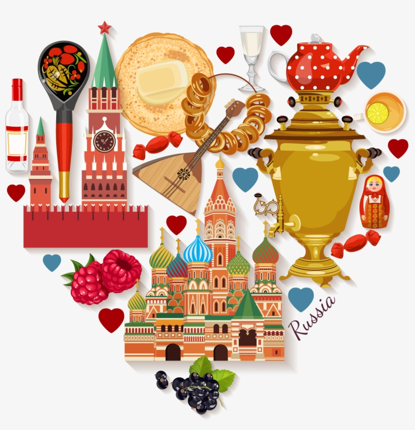 Moscow Flag Clipart Russian.