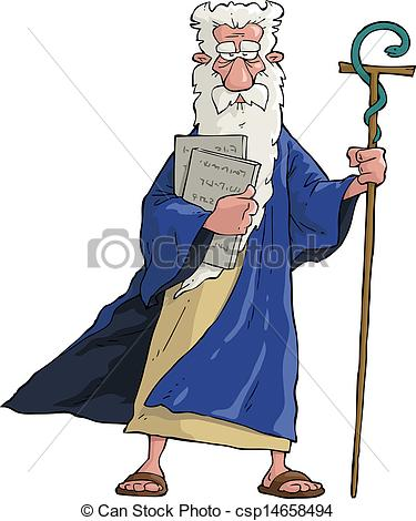 Moses Clip Art and Stock Illustrations. 522 Moses EPS.