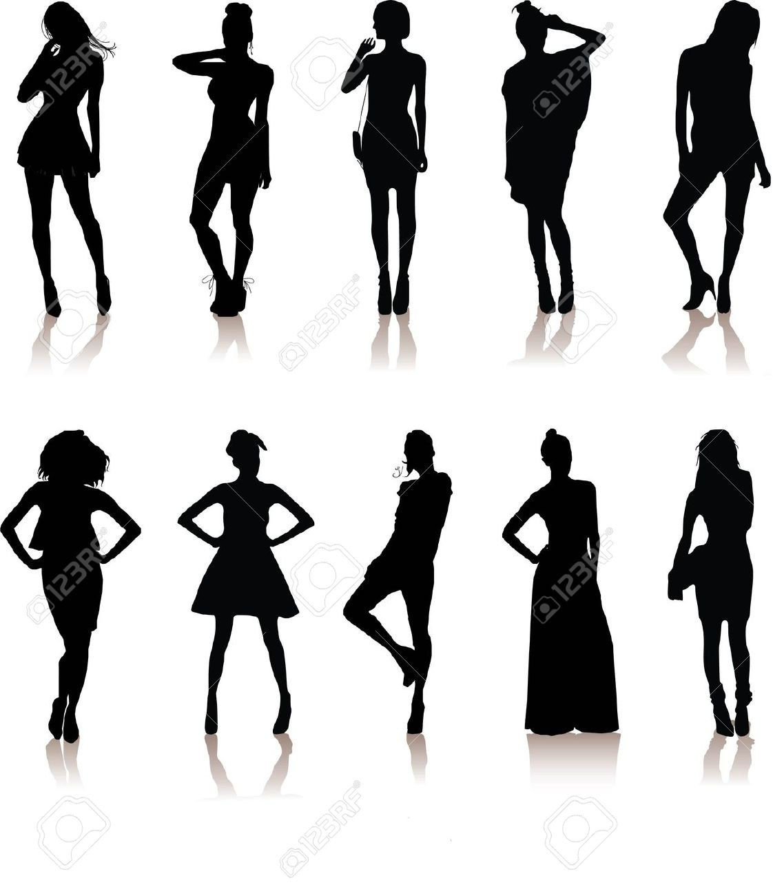Clipart male models.