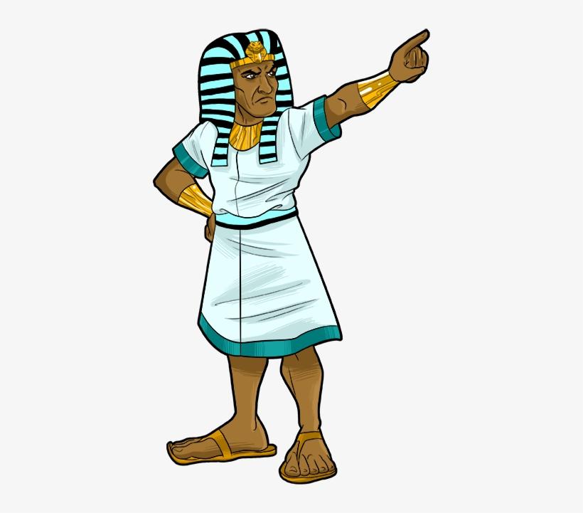 Egyptian Clipart Pharaoh Moses.