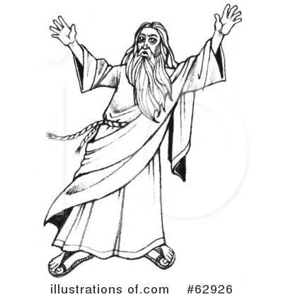 Moses Clipart #62926.