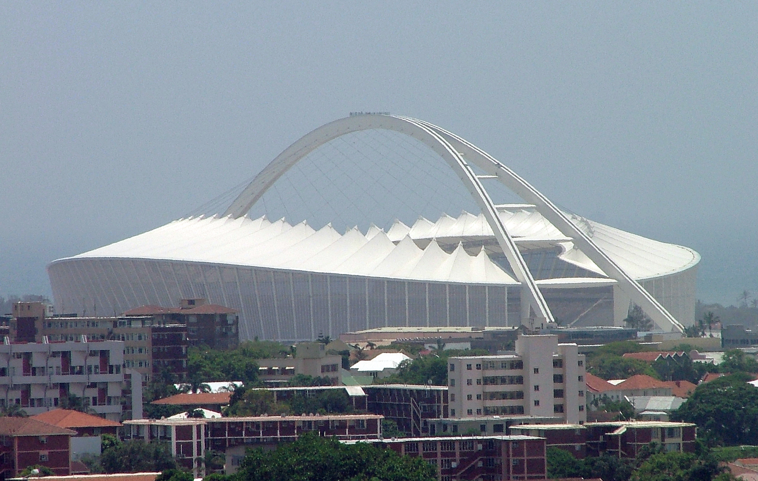 World Cup Venue Preview: Moses Mabhida Stadium.