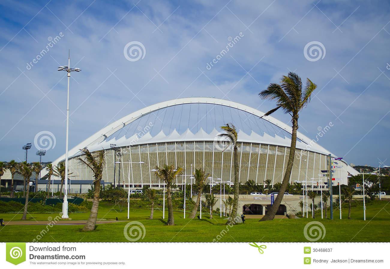 Moses Mabhida Stadium Editorial Photography.
