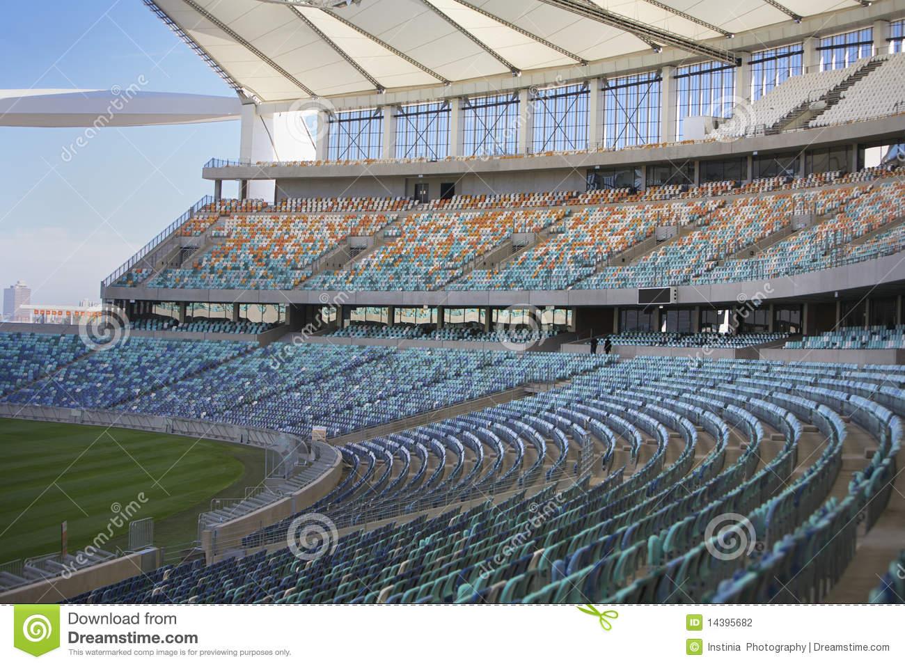 Moses Mabhida Stadium, Fifa Football. Seating Area Editorial Stock.