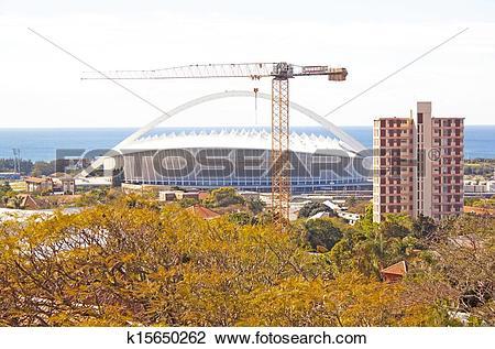 Stock Photo of Moses Mabhida Stadium k15650262.