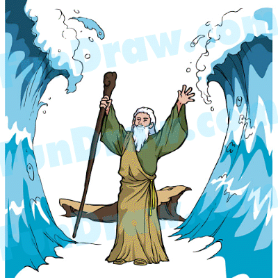 Moses Parts Red Sea Lesson Ideas.