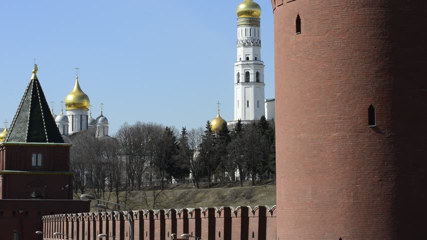 Ivan The Great Bell Tower Stock Footage Video.
