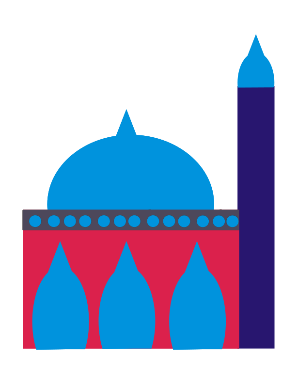 Islamic mosque clipart.