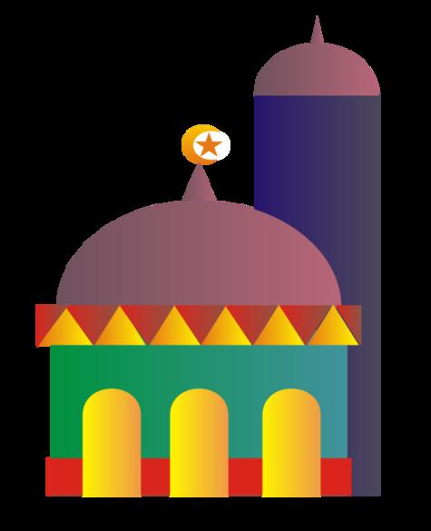 Mosque Clipart Images.