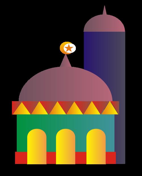 Mosque Clipart.