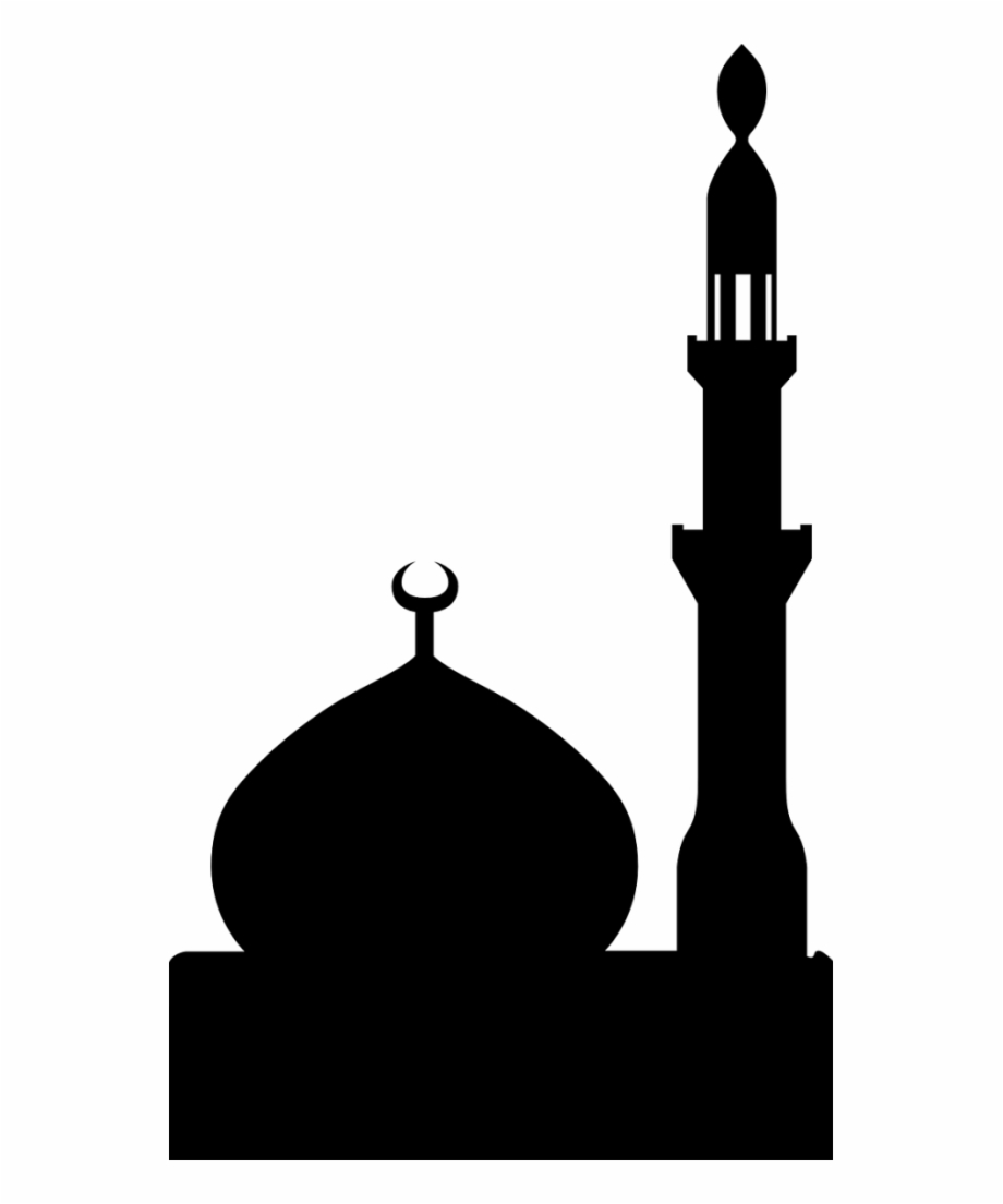 Free Mosque Clipart Black And White, Download Free Clip Art.