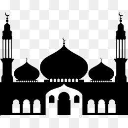Mosque Clipart Design Vector Image.