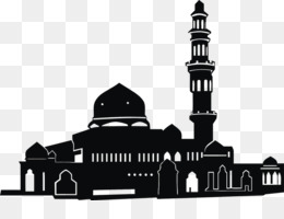 Mosque Silhouette PNG and Mosque Silhouette Transparent.