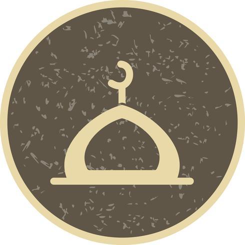 Mosque Vector Icon.