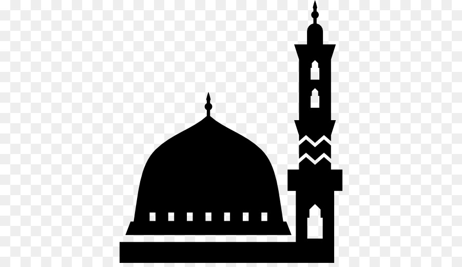 Mosque Silhouette clipart.