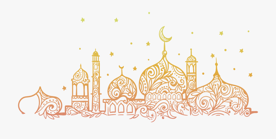 Eid Mubarak Mosque Png #997235.