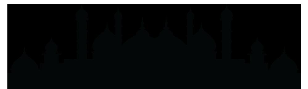 Mosque Silhouette Mecca Islam.