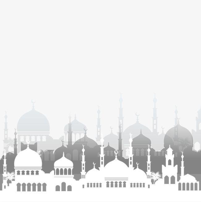 Islamic Mosque Vector Architecture, Ramadan, The Koran.