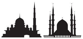 Mosques Stock Illustrations.