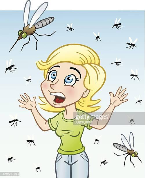 20 Mosquito Bite Stock Illustrations, Clip art, Cartoons.