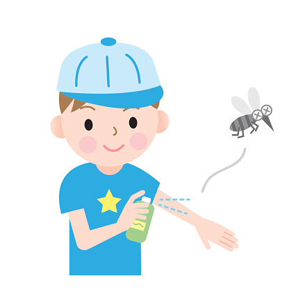 Mosquito Bite Clip Art, Vector Images & Illustrations.