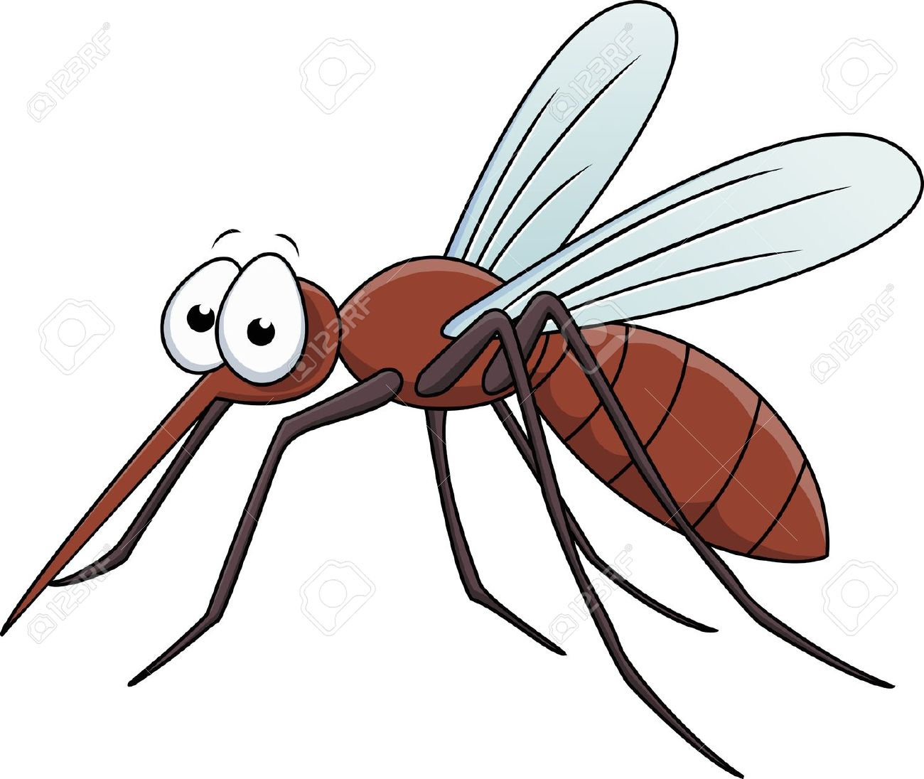Clipart Of Mosquito.