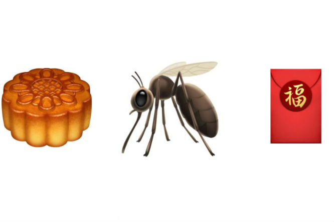Apple adds mooncake, red envelope and mosquito emojis for.