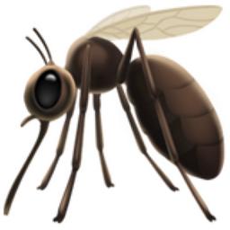 Mosquito Emoji (U+1F99F).