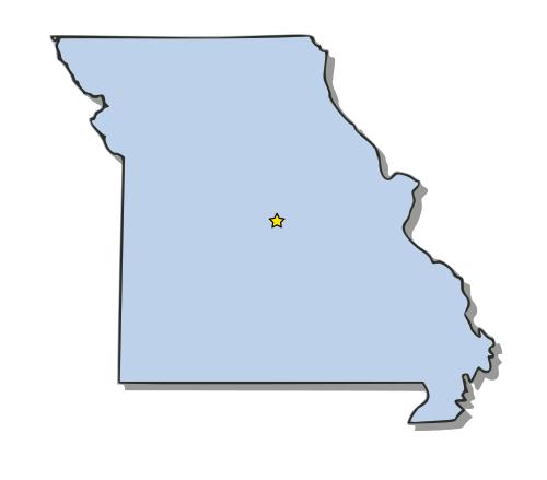 Clipart Missouri Outline.