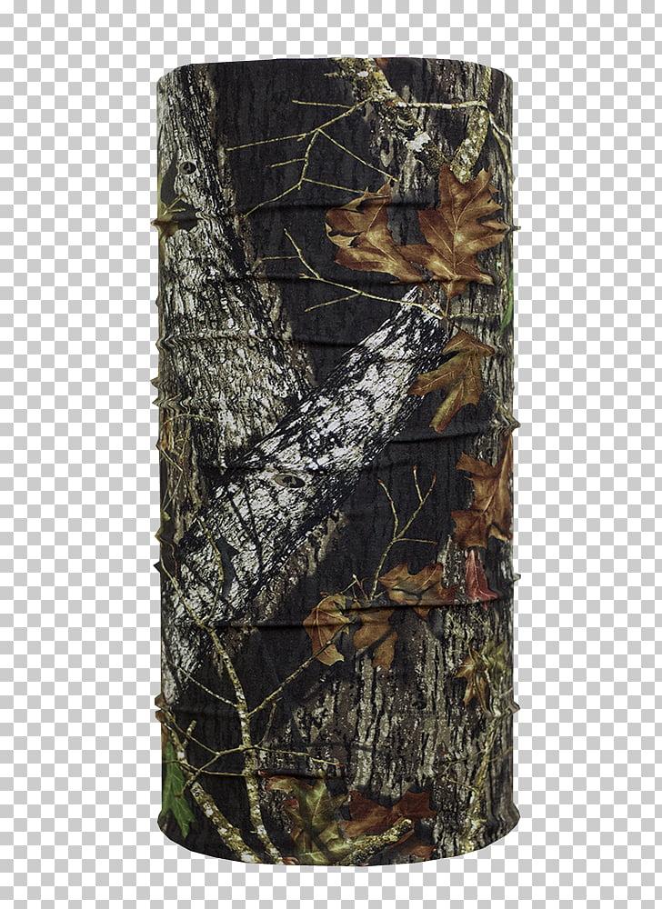 Mossy Oak Camouflage Bandana Headgear Hunting, break up PNG.