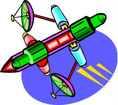 Satellite Clip Art.