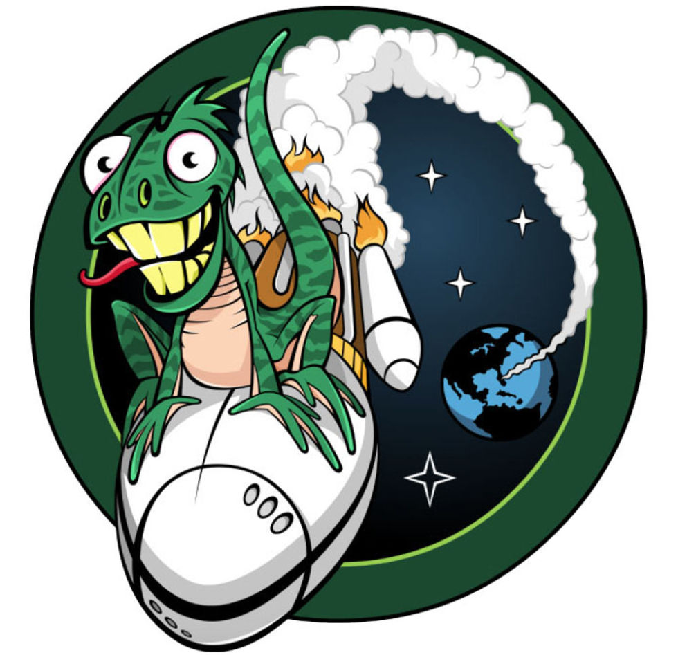 17 Sinister Spy Satellite Mission Patches.