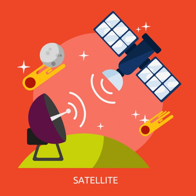 Satellite Vectors, Photos and PSD files.