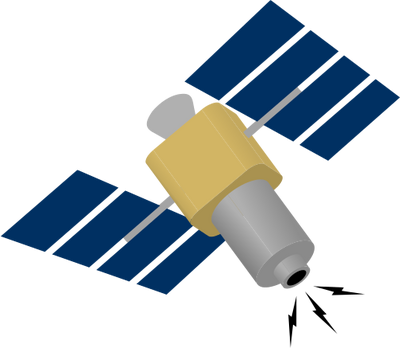 most recent satellite clipart - Clipground