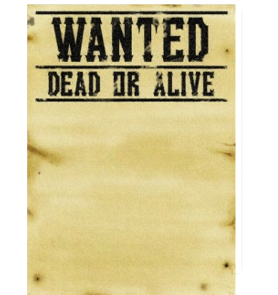 Free Wanted Poster, Download Free Clip Art, Free Clip Art on.