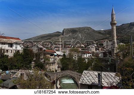 Stock Photo of Mostar City u18167254.