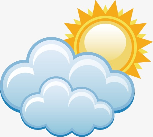 1081 Cloudy free clipart.