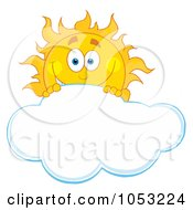 Gallery For > Mostly Cloudy Flurries Clipart.