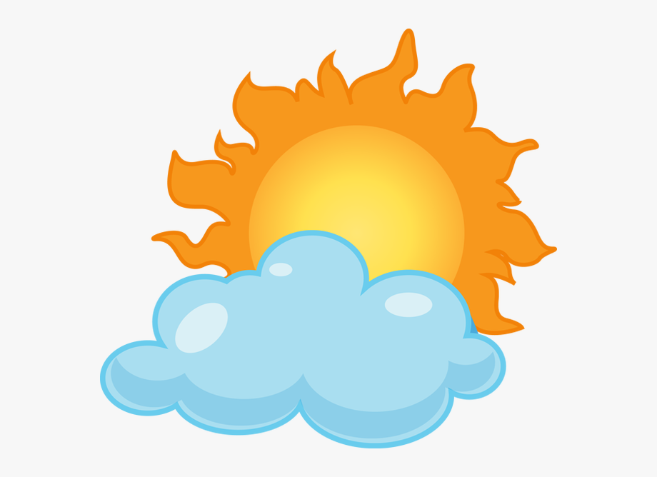 Clip Art Partly Sunny Rainy Clipart Kid.