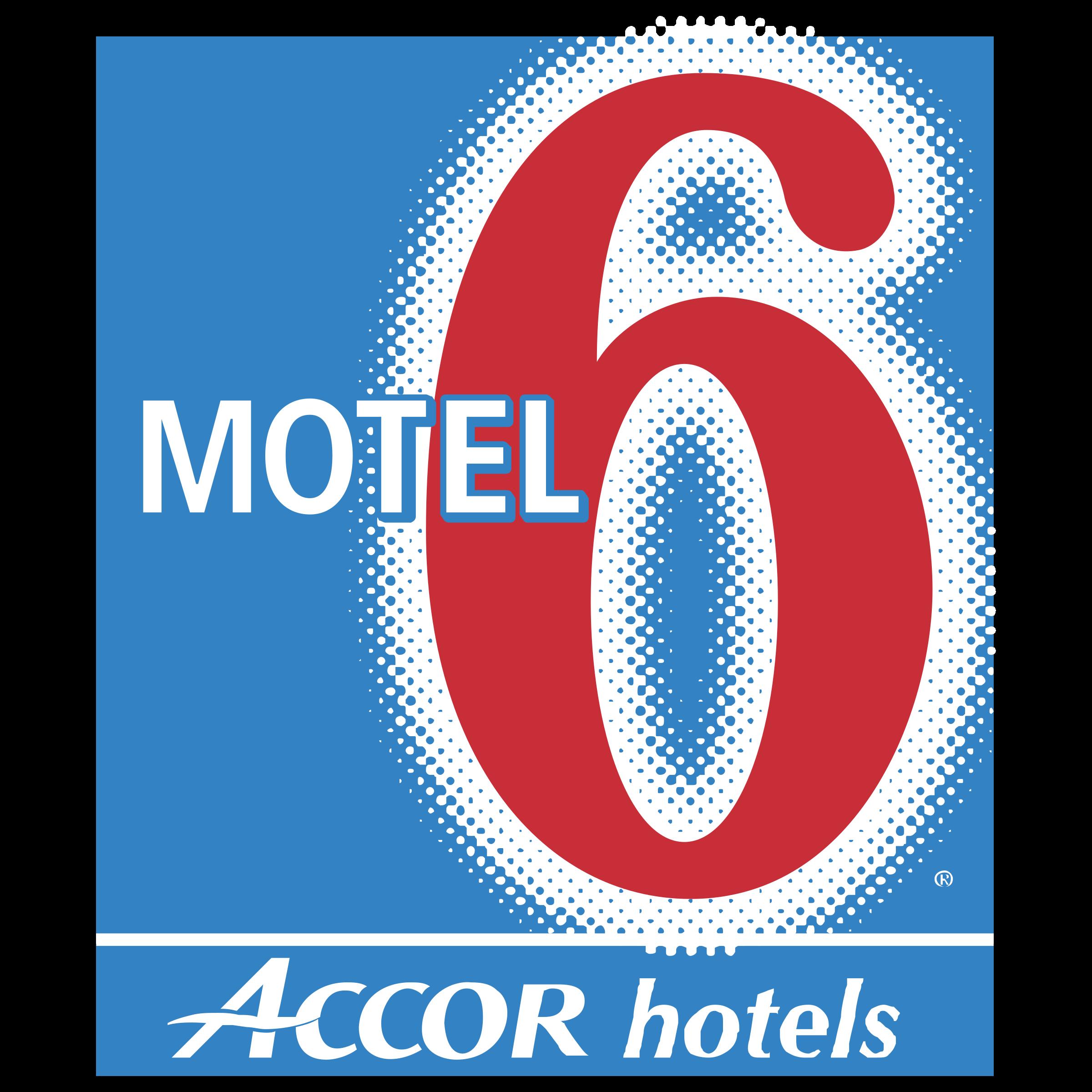 Motel 6 Logo PNG Transparent & SVG Vector.