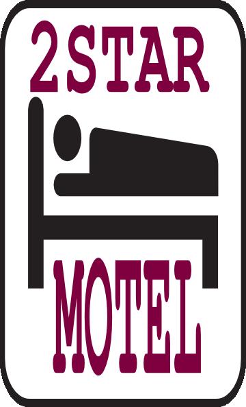 2 Star Motel Clip Art at Clker.com.
